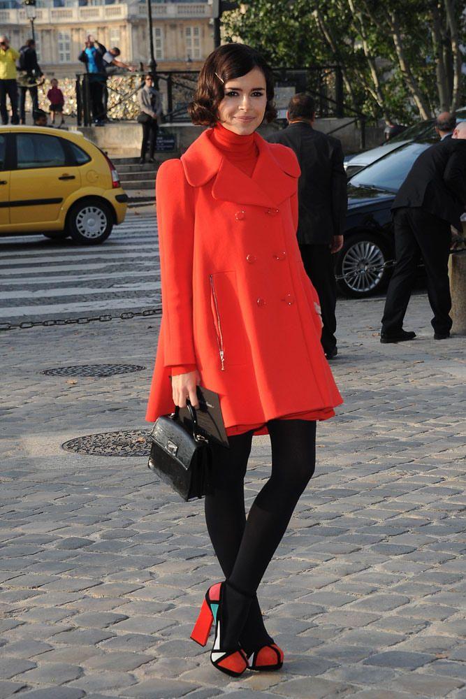 Los looks de las celebrities para un invierno glamouroso MIROSLAVA DUMA