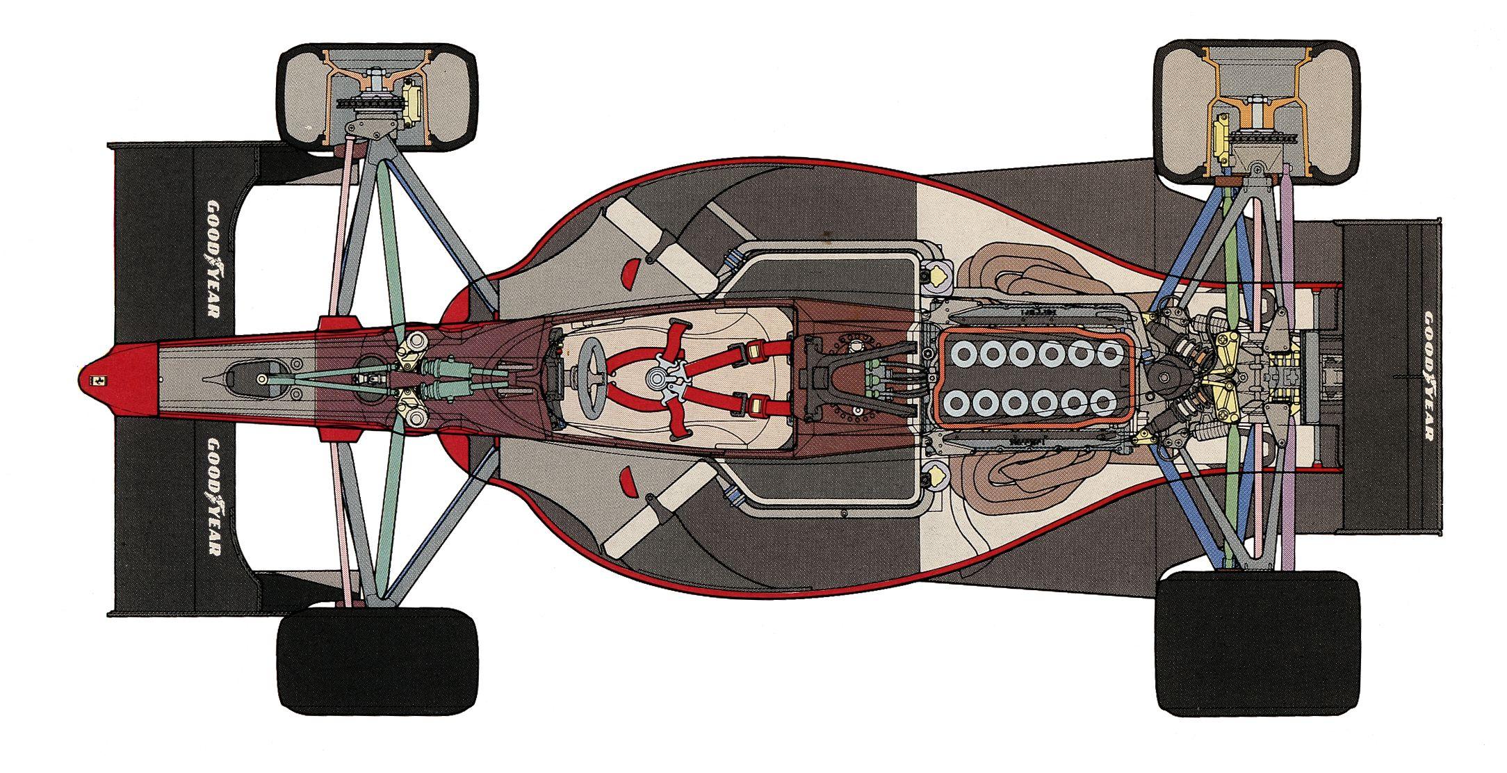 Ferrari 641 Beautifully Designed by F1 Designer John