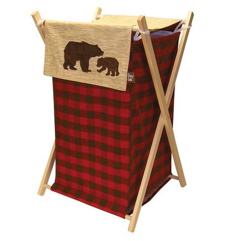 Trend Lab Northwoods Hamper Shopko Trend Lab Bear Decor