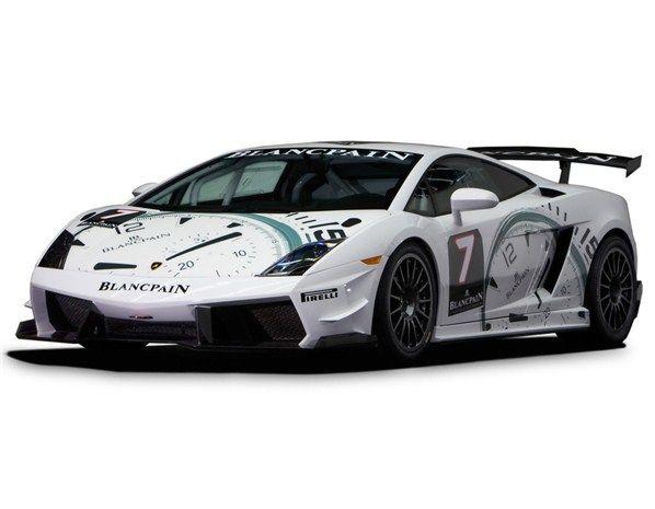 2009 Lamborghini Gallardo Super Trofeo, In White Apparently!