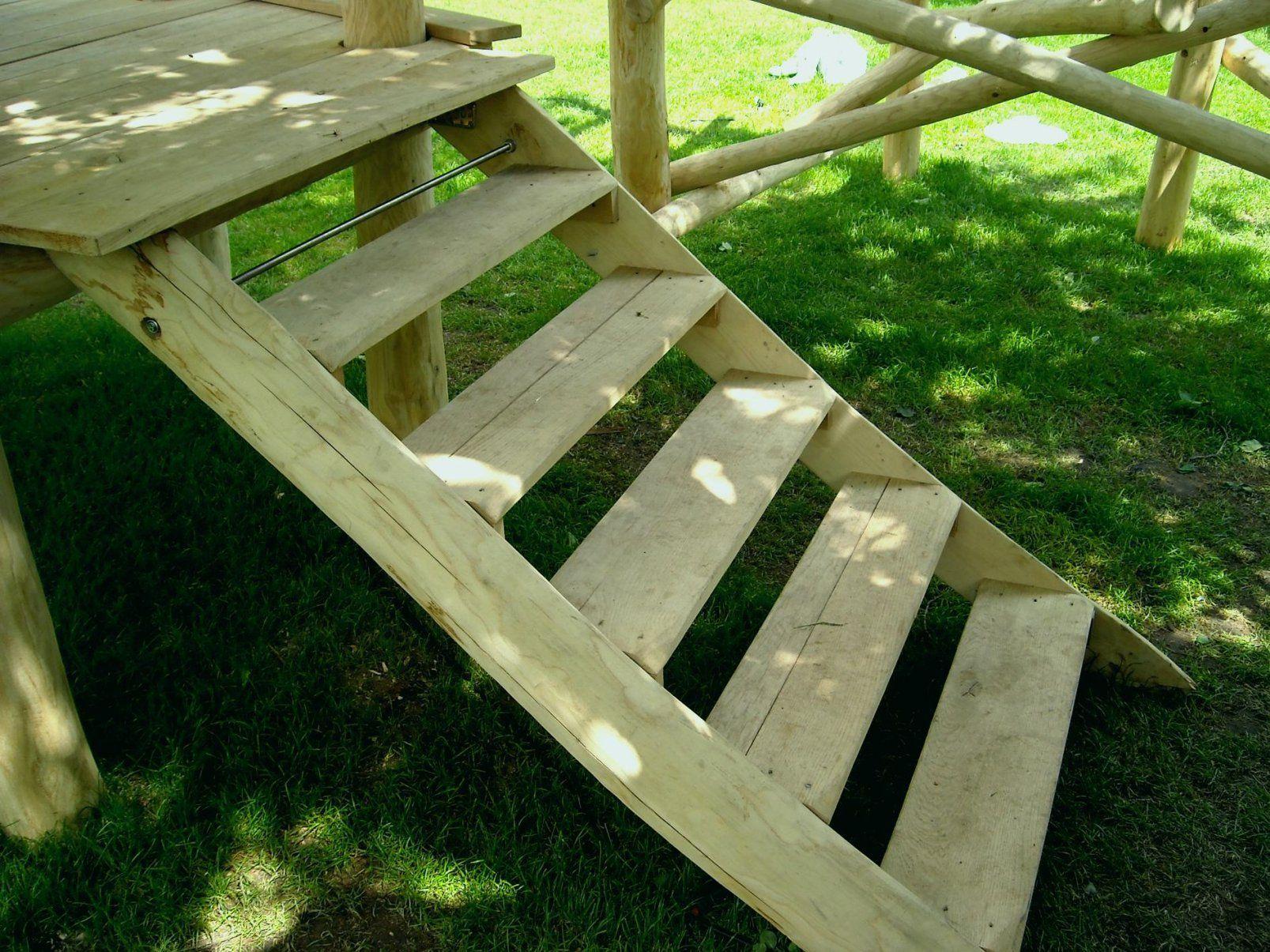 treppe bauen garten