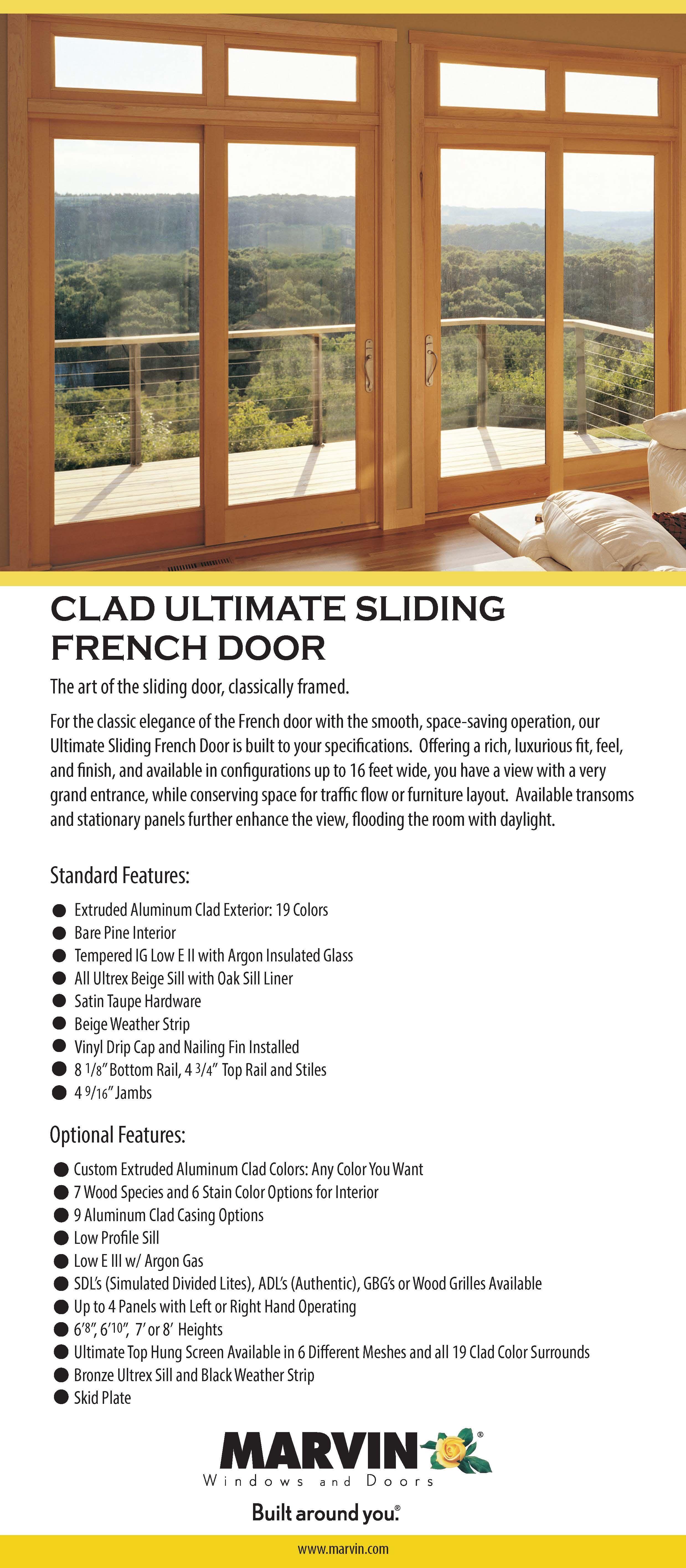 marvin sliding french doors. Marvin Sliding French Door 7\ Doors S
