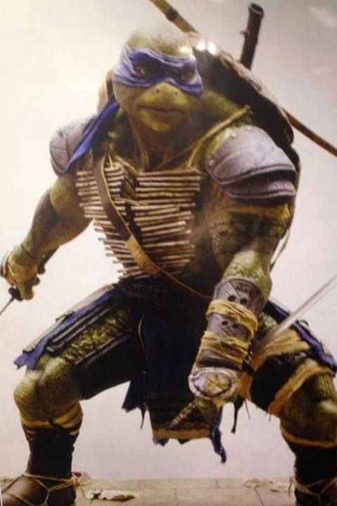 ¡Primer vistazo a Leonardo de Teenage Mutant Ninja Turtles!!!  Producida por Michael Bay!!