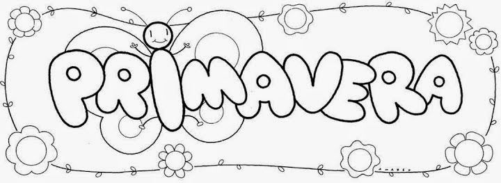 60 Atividades e desenhos de primavera para Educação Infantil e ...