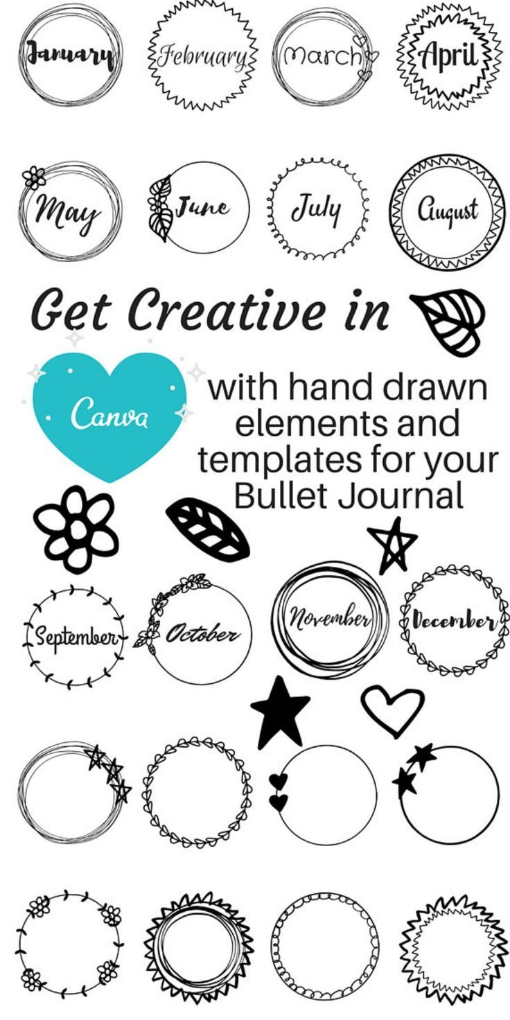 Hand drawn elements add a quirky touch to your digital