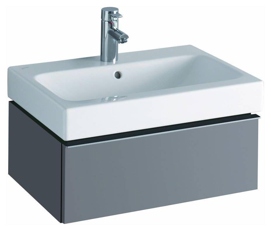 Keramag Geberit Icon Waschtischunterschrank 595mm X 240mm X