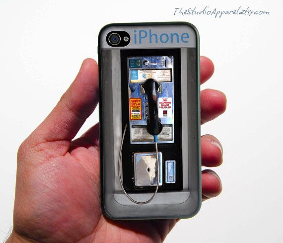 phone booth iPhone cover... Awesome!