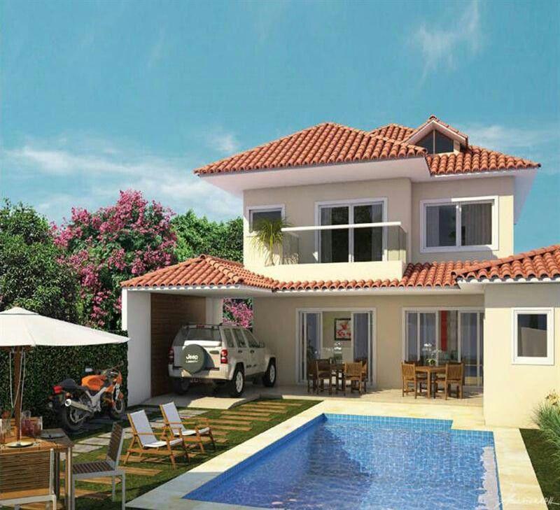 Pinterest claudiagabg casa 3 pisos 4 cuartos 1 sala de for Habitaciones con piscina dentro