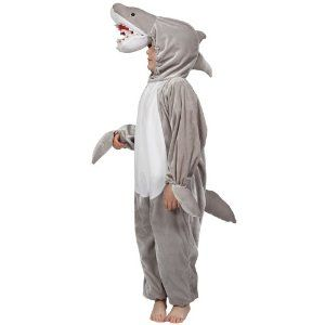 childrens fancy dress up halloween costume shark - Halloween Costume Shark