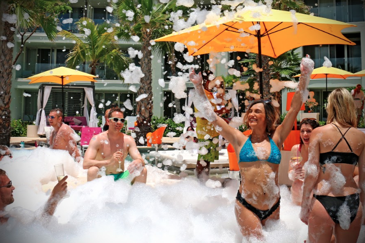 We Love Throwing Foam Parties At Breathless Riviera Cancun Riviera Cancun Riviera Cancun Resort Cancun Resorts