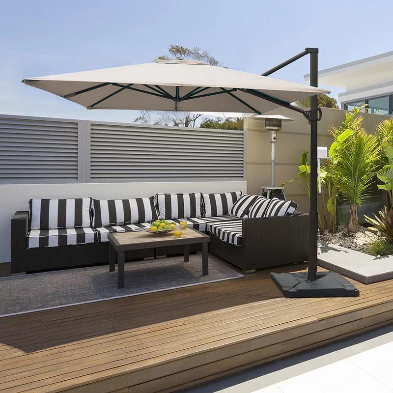 Fordwich 8 X 10 Rectangular Cantilever Umbrella Outdoor Patio Decor Patio Design Patio Shade