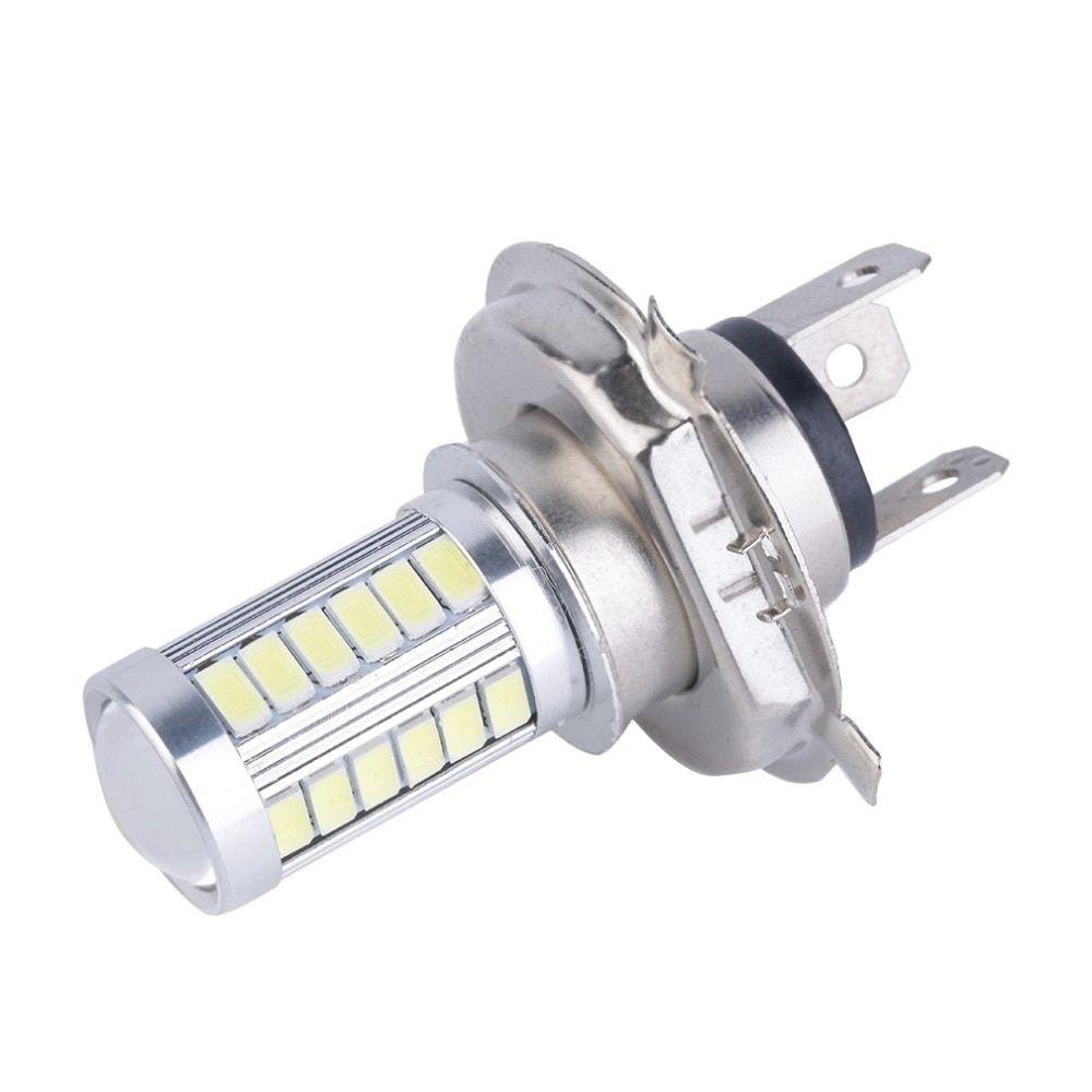 Useful H4 33 SMD 5630 LED 800LM White Car Signal Headlight Auto Fog Light Bulb