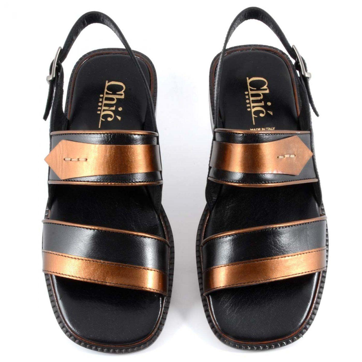 Black Color Designer Sandal For Men   Chic Shoes Italy in Dubai, Saudi  Arabia, GCC b2c9dbe072c