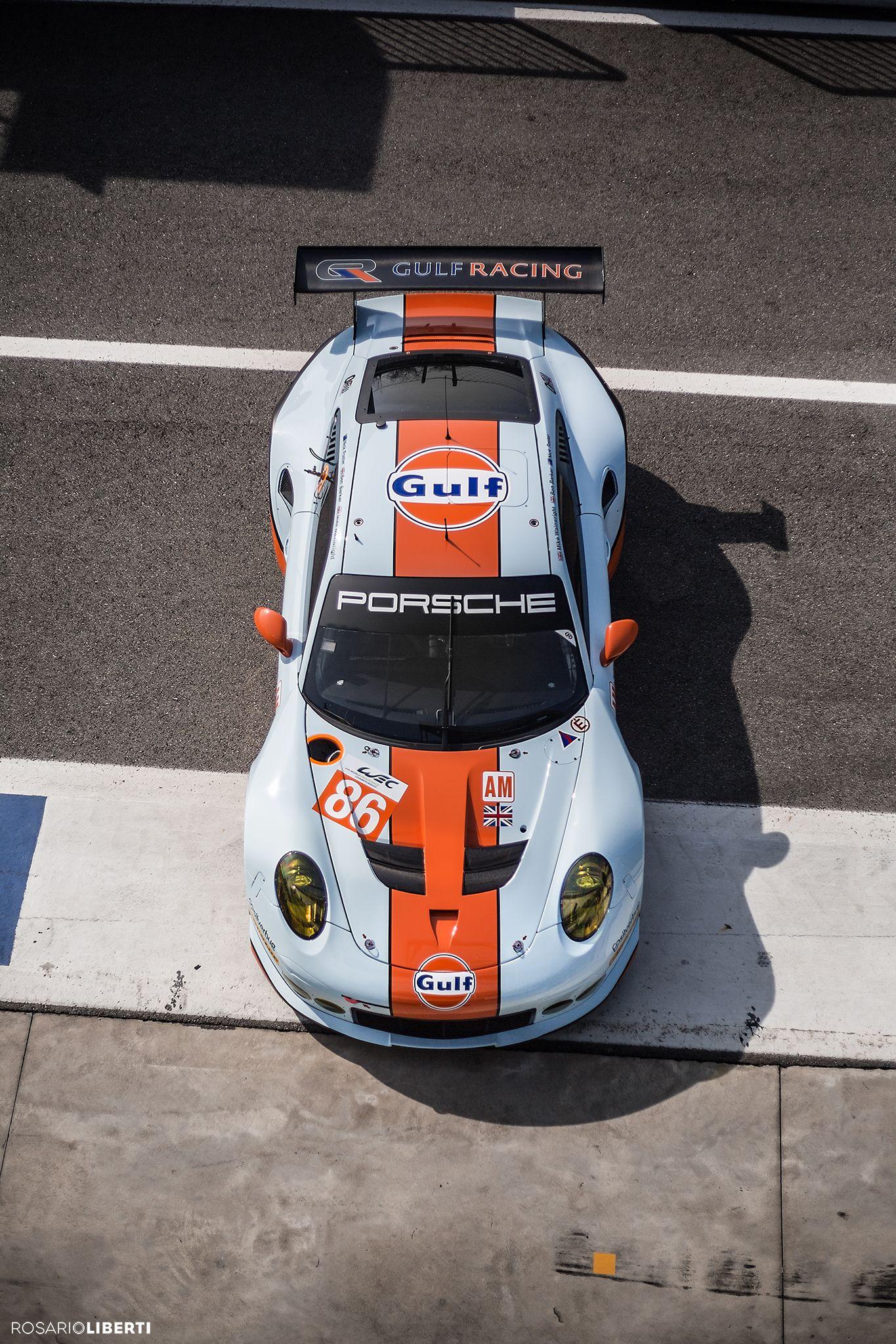 Gulf Size Porsche Sports Car Gulf Racing Porsche