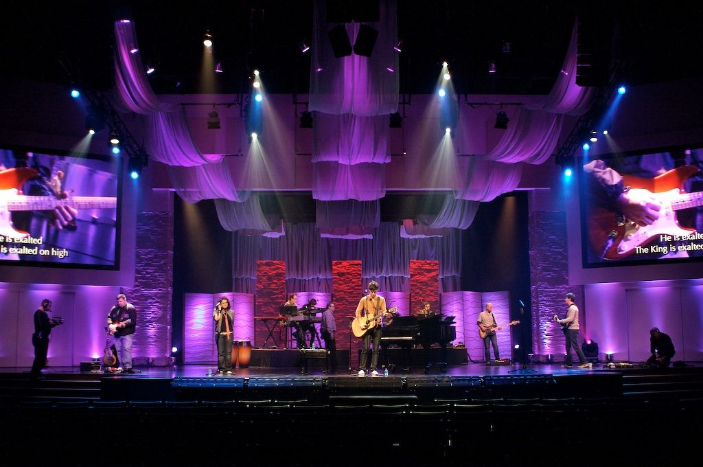 stage lighting design church stage design church ideas set design