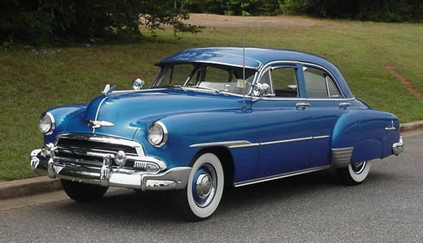 1951 Chevrolet Styleline Deluxe 4 Door Sedan Chevrolet Sedan Chevrolet American Classic Cars