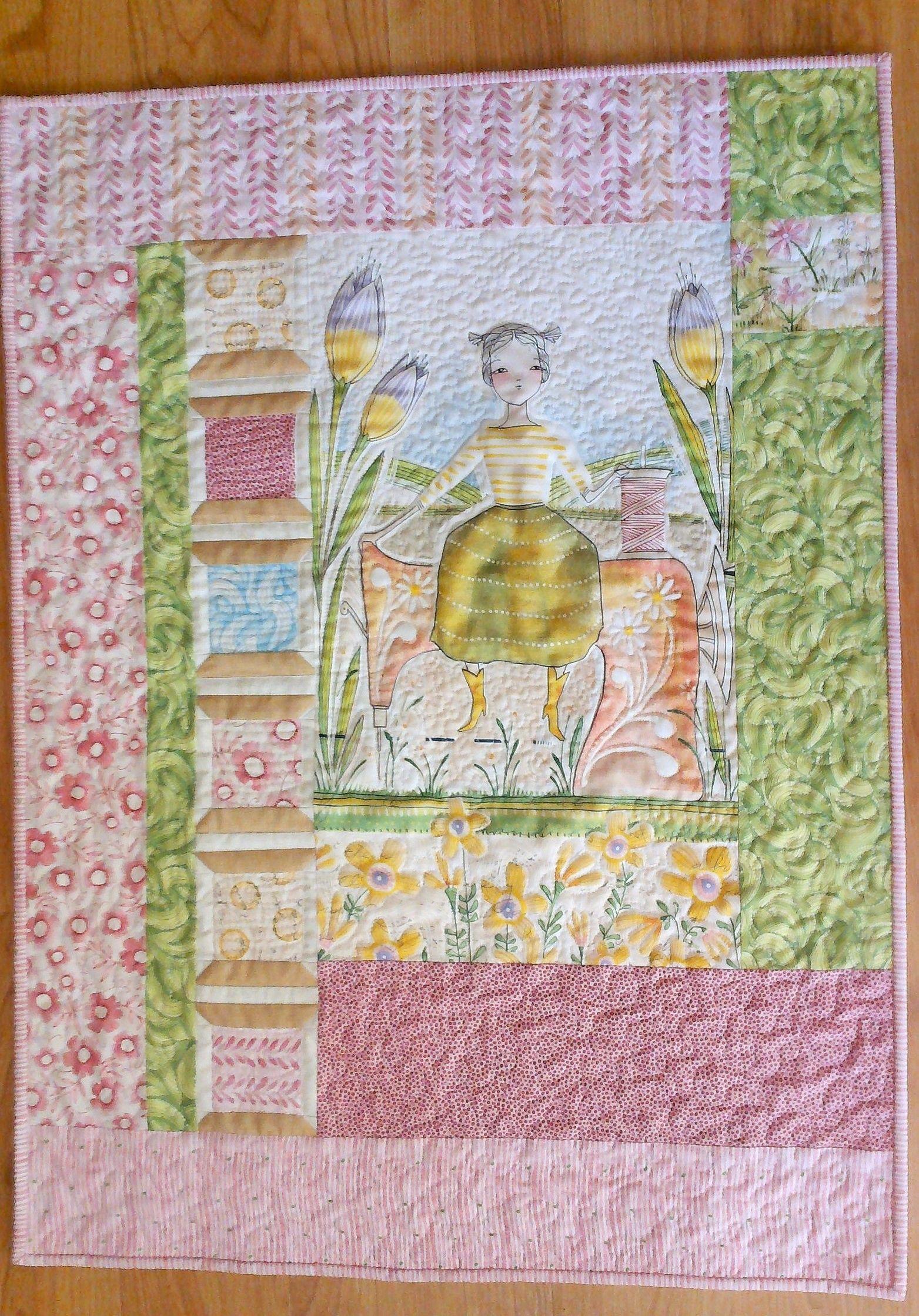 The Makers fabric by Cori Dantini An original pattern by Mary Carlock.