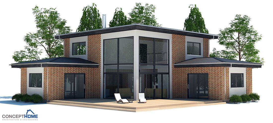 Affordable small house plans modern home design and style for Cheap modern house plans