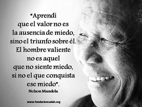 Estoy de acuerdo, Mandela!!!