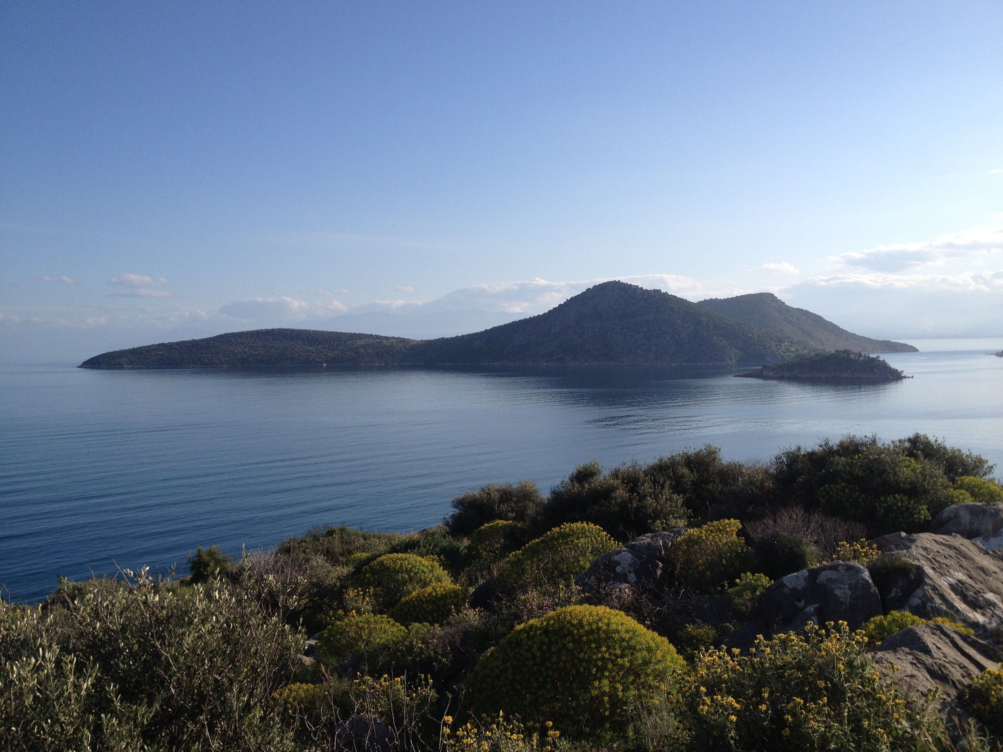 Bay Of Tolo Greece 3264 X 2448 Hd Wallpaper From Gallsourcecom