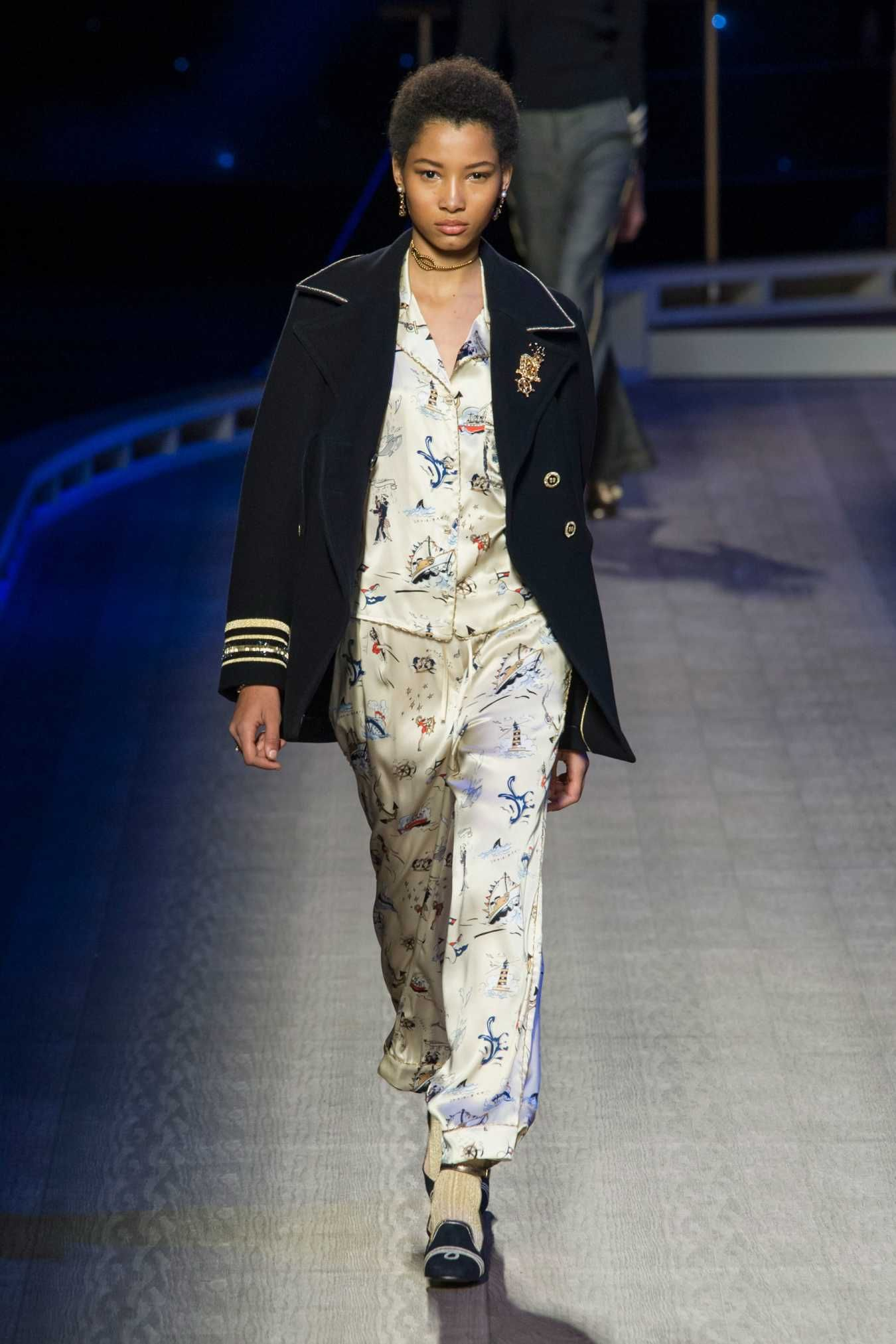 A look from Tommy Hilfiger's fall 2016 collection. Photo: Imaxtree.