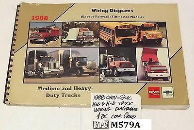 1988 GMC Chevrolet Heavy Medium Duty Truck Electrical Diagram Shop. 1988 GMC Chevrolet Heavy Medium Duty Truck Electrical Diagram Shop Manual Good For Usd37. GMC. GMC Heavy Truck Electrical Diagrams At Scoala.co