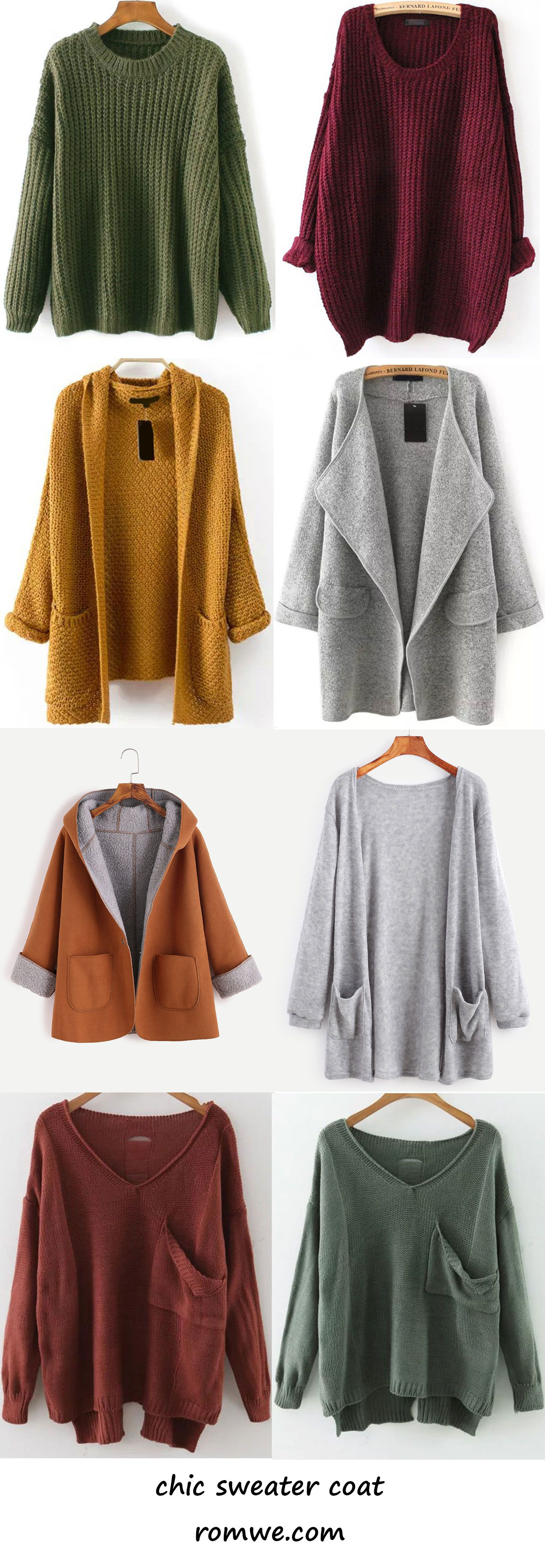 fall sweaters and cardigans 2017 - romwe.com | Romwe Hot Buy ...