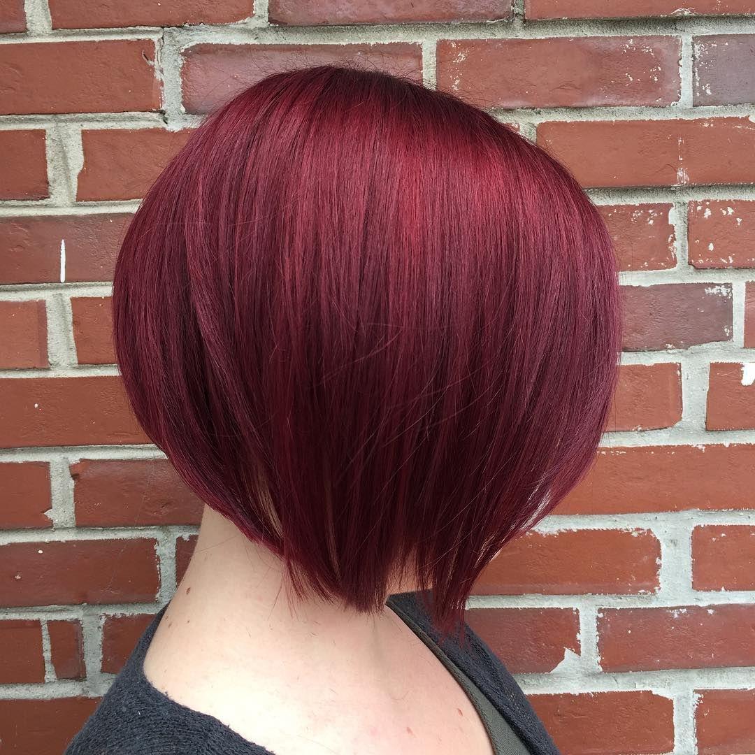Wine Red Pixie Maroon Hair Deep Red Hair Maroon Hair Colors