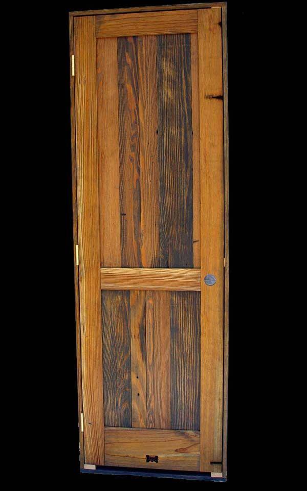 Rustic interior door cottage pinterest rustic for Interior cabin doors