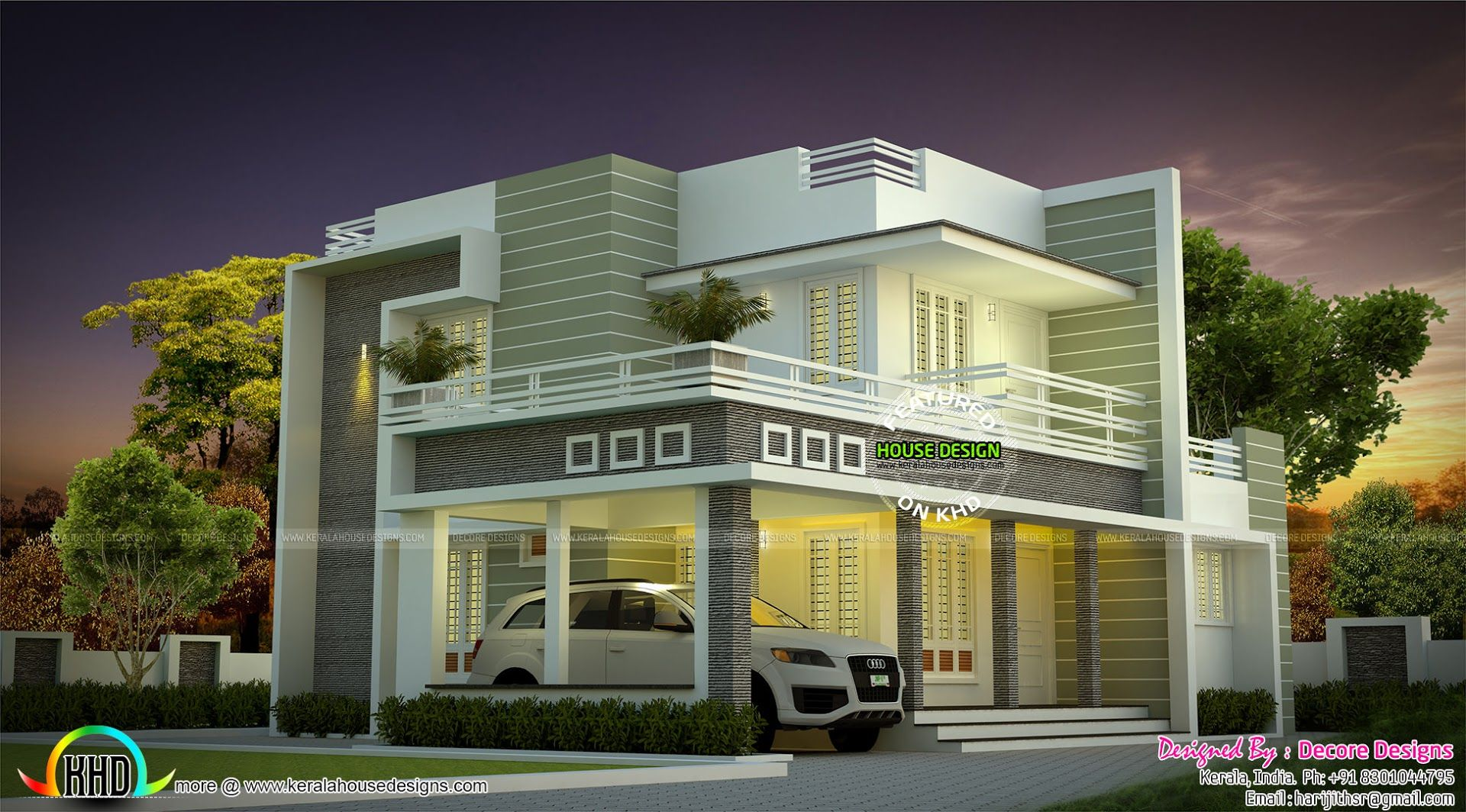 beautiful modern house architecture kerala home design and floor plan creator free excerpt floorplans open - Floor Plan Creator Free