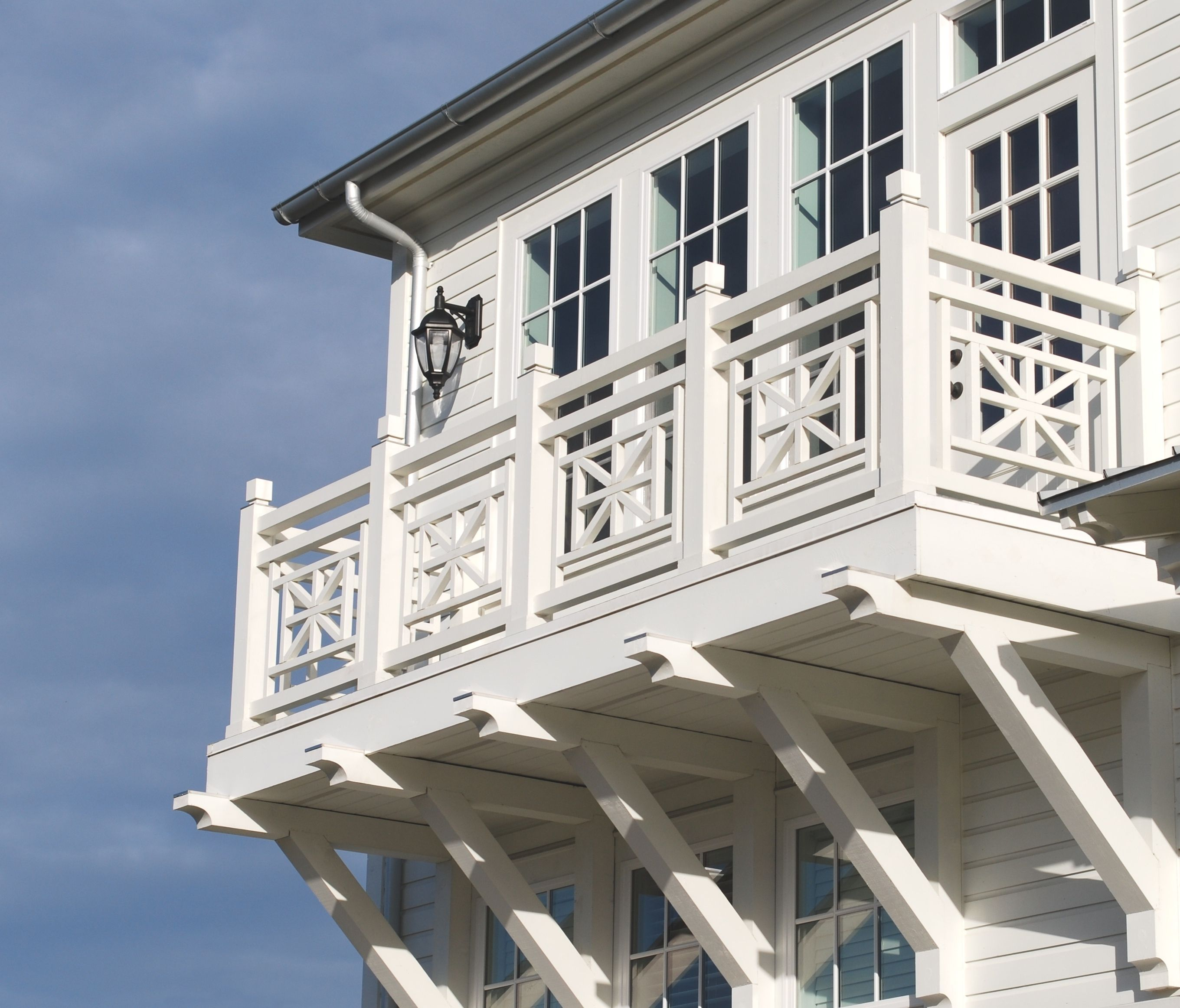 Beach House Decks: Balconies; Decks; Porches; Railings; Beach Houses; Wood