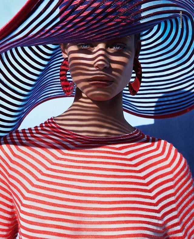 Model Birgit Kos (@birgitkos) photographed by Sølve Sundsbø (@solvesundsbostudio) for Giorgio Armani Spring/Summer 2016 (@armani). Stylist: @beatbolliger   Hair: @shonju   Makeup: @lisabutlermua.