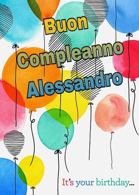 Buon Compleanno Alessandro Angélica