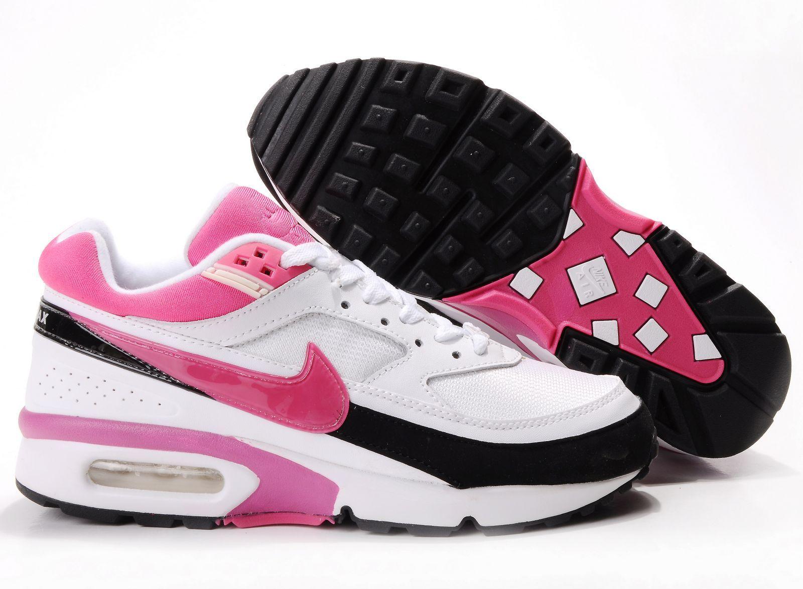 Nike Air Max Classic 91 BW Womens Shoes PinkWhiteGrey