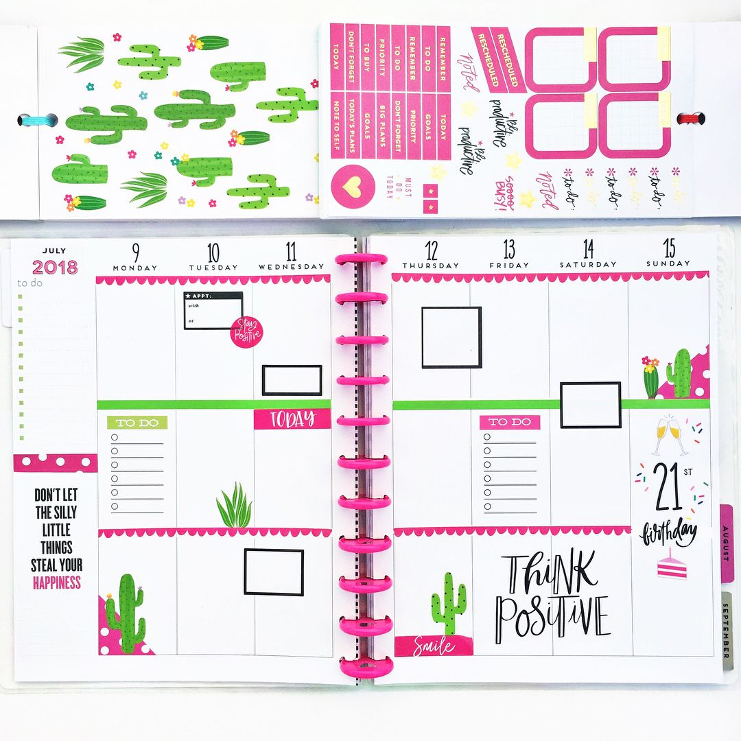 f017 Cravings Planner Stickers
