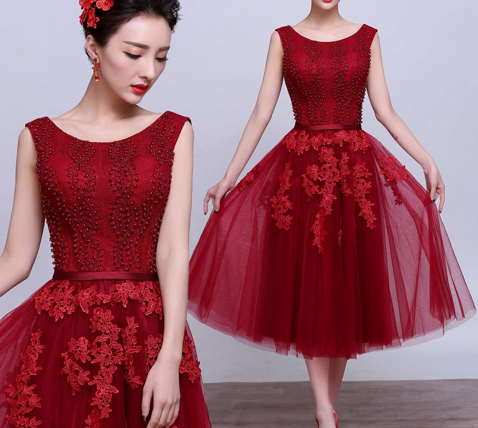 Charming aline lace short prom dresshomecoming dresses from little