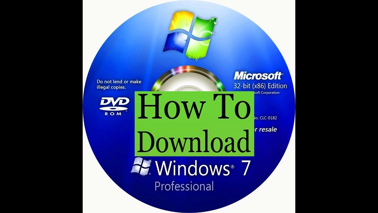 windows 7 ultimate edition free download full version