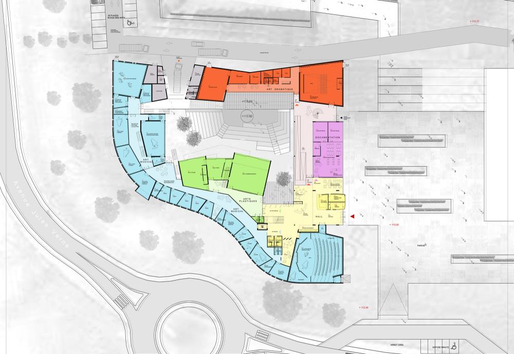 Art School – Carcassonne / Jacques Ripault Architecture