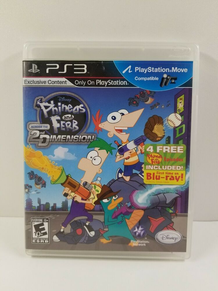 phineas and ferb across the 2nd dimension online