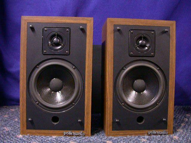Vintage Polk Audio Speakers Monitor 4a Polk Audio Speakers Polk Audio Audio