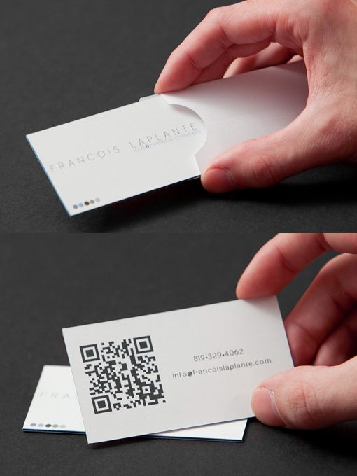 Business Cards With Their Own Envelopes