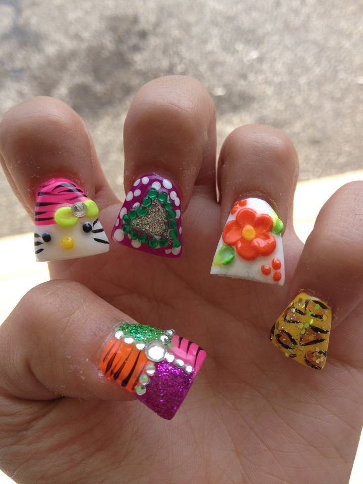 -fun-and-cute-nail-design-extension-with-full-3d