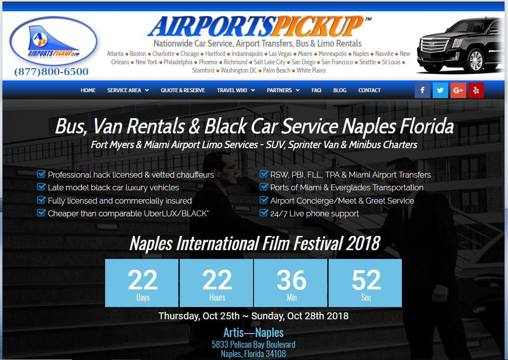 2018 International Film Festival Naples Florida Miami