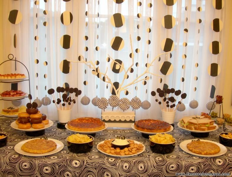 Decoracion de mesas mesa cumplea os tipo buffet actividades pinterest celebrations - Decoracion buffet ...