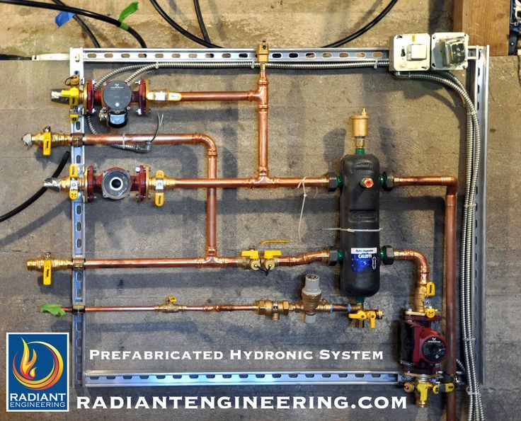 Radiant Engineering manufactures prefabricated hydronic