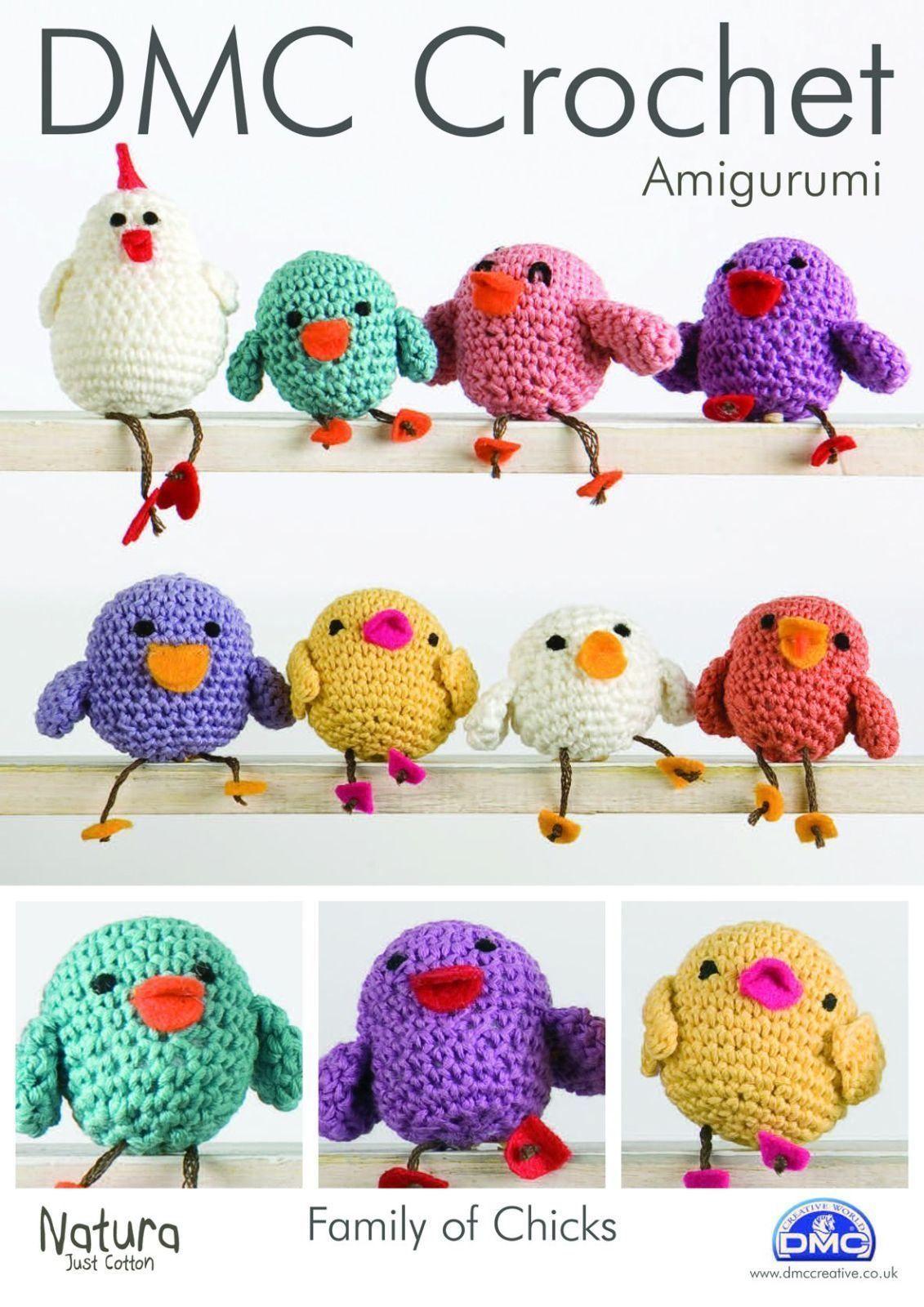 Dmc Family Of Chicks Amigurumi Crochet Pattern Patterns