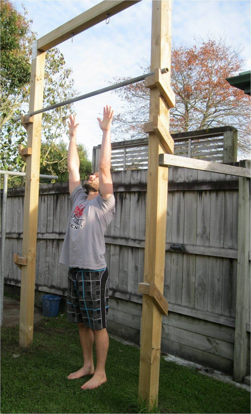 Back To Primal Pull Up Frame Architecture Outdoor