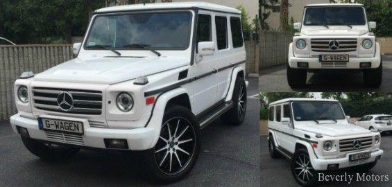 2005 Mercedes Benz G500 For Sale White On Black Mercedes Benz