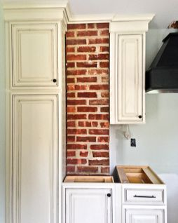 Rustic Kitchen Exposed Brick