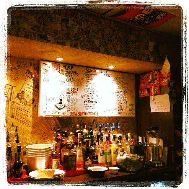 ANNINA IN TALLINNA: Red Emperor Bar